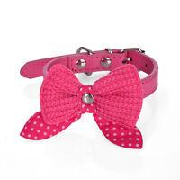 Bow Tie Necktie Dog Puppy Cat Bowknot Pet Collar Polka Dot Choker Necklace XBUK