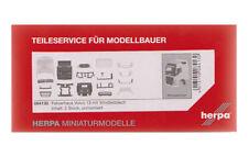 Herpa 084154 Volvo FH GL XL conductor casa con windleitblech y techo alerón 1:87
