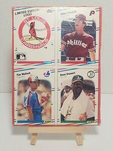 Vintage MLB * Fleer * Baseball * 1988 * Box Bottom * Mike Schmidt (HoF) & Others