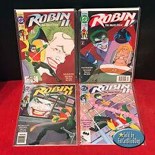 ROBIN II: THE JOKER'S WILD #1-4 NEWSTAND EDITION 1ST PRINTS 4 BOOKS 1991 VF/NM