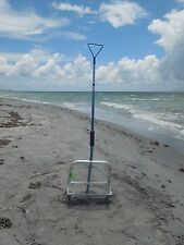 "12"" Shark Tooth Sifter/Sand Flea Rake - Two Piece"