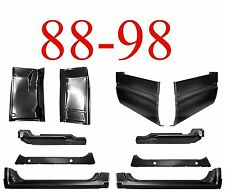 88 98 10Pc Extended Cab Corner, Rocker & Floor Kit, Chevy GMC Truck 1.2MM Thick
