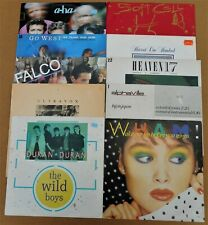 "10 x 1980's 12"" Vinyl Job Lot Wham! Duran Alphaville a-ha Heaven 17 Soft Cell"