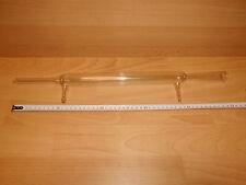 1 x Liebig-Kühler, Liebigkühler, ca. 515mm lang, mit 2 x Oliven ca. DM 10, gebr.
