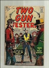 TWO GUN WESTERN #11  1957 SILVER AGE  ATLAS MARVEL COMICS
