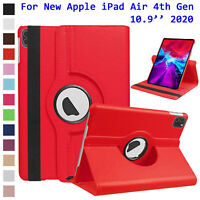 "For Apple iPad Air 4th Generation 10.9"" 2020 Case Rotating Leather Stand Cover"
