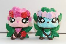 CUSTOM HAND PAINTED Littlest Pet Shop LPS Flower Fairy Tree Fairy OOAK