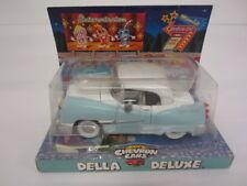 """Chevron Collectible Cars """"Della Deluxe"""" Lite Blue original box w/owners manual"""