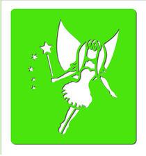 Glitter Tattoo Stencils - SD185 Magical Fairy x 5 identical stencils