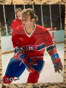 Guy Lafleur Autographed Signed 8x10 Photo Montreal Canadiens