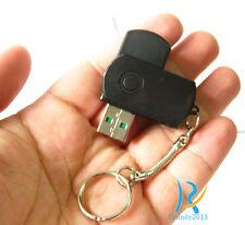 U disk design Protable mini spy hidden micro Pinhole HD Tiny camera recorder DVR