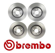 For Audi A4 A5 Quattro Q5 2009-2012 Front & Rear Disc Brake Rotors Brembo Kit
