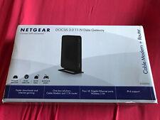 Netgear CG3000D-1CXNAS Wireless Gateway Modem Router Docsis 3.0 606449072594