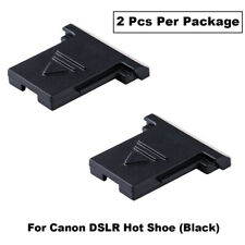 2 piezas JJC Zapata cubierta para Canon DSLR Powershot y Mirrorless Cámaras