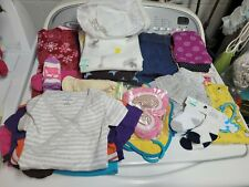 Huge lot 3-6 months toddler girls clothes pants sleeps sack bibs jeans sleeper