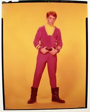 Lost In Space Billy Mumy Will Robinson Color Transparency-4x5-Purple-6 0s-Bnza