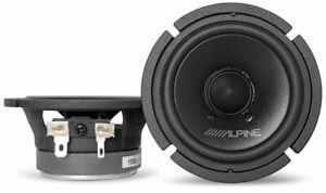 "2) Alpine 30MC 50W RMS 3"" Midrange Component Car Audio Speaker"