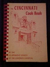 The Cincinnati Cook Book, Co-Operative Society of Children's Hospital OH 66064