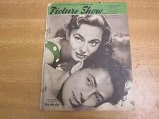 April 1951, PICTURE SHOW, Farley Granger, Ann Blyth, Deborah Kerr, Bing Crosby.