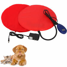 Waterproof 15W Safe Heated Warmer Bed Pad for Dog Cat/Reptile Mat Pad Us