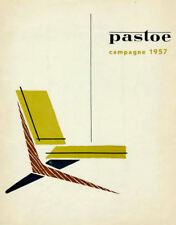 Stampa incorniciata-pastoe CAMPAGNA 1957 Vintage Sedia POSTER (PICTURE Eames Bertoia)