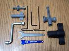 Traxxas 1/10 Summit Tools 17mm Splined Wheel Hex Wrench Tool Kit E-Maxx Revo 3.3