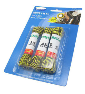 3 Pairs 114 cm  ROUND Shoelaces shoe Boot Laces Outdoor Hiking Gym sport
