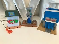 Thomas the tank engine take along playsets sodor wash paint station buildings