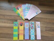 Job lot x 50 cute girls BOOKMARKS Kids Party Bags School Boot sale teachers loot