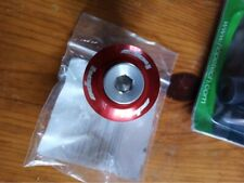 Hope Head Doctor - Headset Bolt & Top Cap (Red)