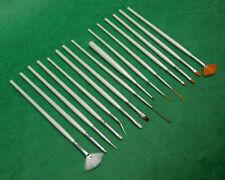 Comprehensive Nail art pens & Brushes Set of 15 pieces - UK Warehouse