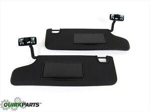 Mopar Sun Visors For 2010 Jeep Wrangler For Sale Ebay