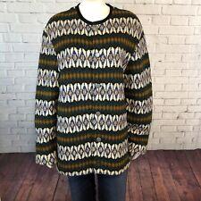 Iceland Vintage Sweater 100% Scandinavian Lambs Wool L Made in Sweden Cozy