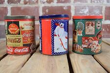 Lot of 3 Assorted Coca-Cola Tin Puzzles 700 Pieces