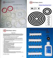 1972 Williams Fan-Tas-Tic Pinball Tune-up Kit - aka Fantastic