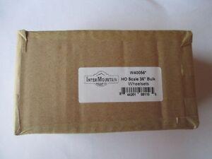 "InterMountain HO W40056 36"" All Brass Wheelsets - Bulk 100 Pack"
