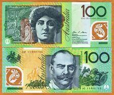Australia, $100, 2011, Polymer, P-61-New, UNC