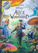 ALICE IN WONDERLAND - JOHNNY DEPP - DVD NIEUW SEALED