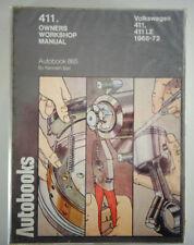 Reparaturanleitung VW 411 / L / E / LE Typ 4, Baujahre 1968 - 1972