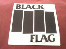 """Black Flag 4""""x4"""" STICKER Decal new old stock"""