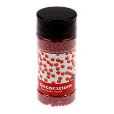 Rote Zuckerblumen zum Kuchendekorieren & Dekorationen
