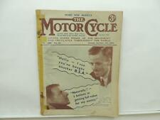 Sept 1935 The Motorcycle Magazine BSA Francis-Barnett Cruiser AJS Triumph L8670