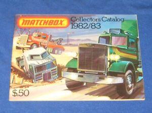 Vintage Matchbox Die Cast Catalogue 1982/83 U.S. Print