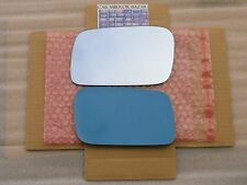 F142LB 2009-2014 Acura TL BLUE Mirror Glass Driver Side Left LH + FULL Adhesive