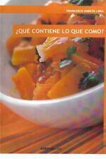 Que Contiene lo Que Como? by Francisco Lara (2015, Paperback)