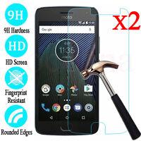2Pcs 9H+ Tempered Glass Screen Protector Film For Motorola Moto G4 G5 G5S Plus
