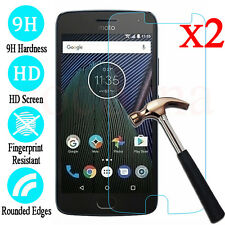 2Pcs 9H+ Tempered Glass Screen Protector Film For Motorola Moto G4 G5 G5S Plus