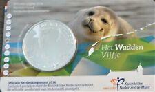 Nederland - 2016 - 5 euro - Wadden Vijfje - UNC - in Coincard