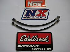 "LOOK MOM BLACKOUT! *NEW 4AN-3AN-12"" NITROUS OR FUEL LINE/HOSE NOS/NX/ZEX 1-LINE!"