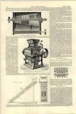 1892 Armfield Bran Duster Ringwood Israel Dresden Rolling Mill Fiechter Livpool
